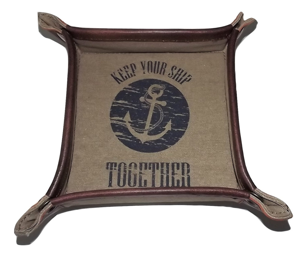 Mona B Keep Your Ship Together Snap Valet Tray