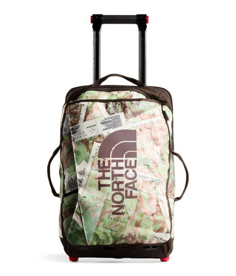 North Face Rolling Thunder 22 Carry-on Topo Map