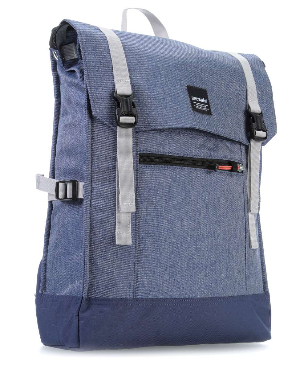 Pacsafe Slingsafe LX450 Anti-Theft Backpack Denim