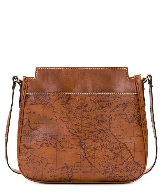 Patricia Nash Antilly Signature Map Crossbody Shoulder Bag