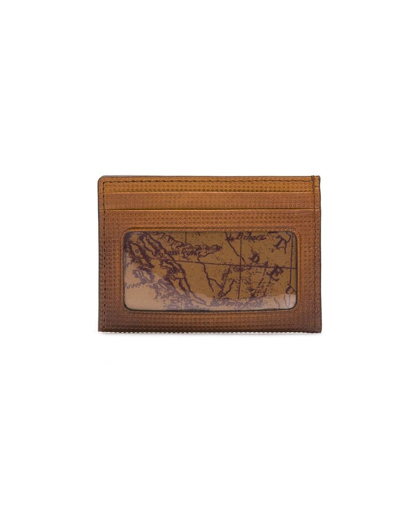 Patricia Nash Credit Card ID Wallet Chestnut