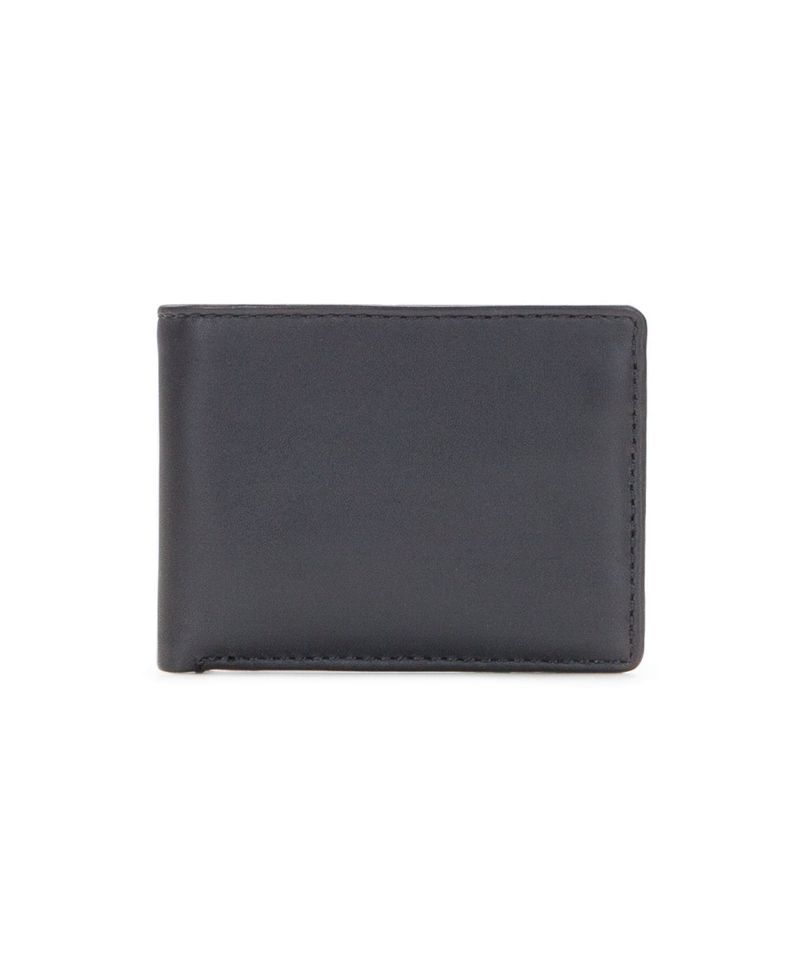 Patricia Nash Men's Leather Lucca Double Billfold ID Wallet Black