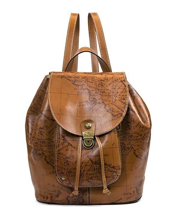 Patricia Nash Casape Signature Map Backpack