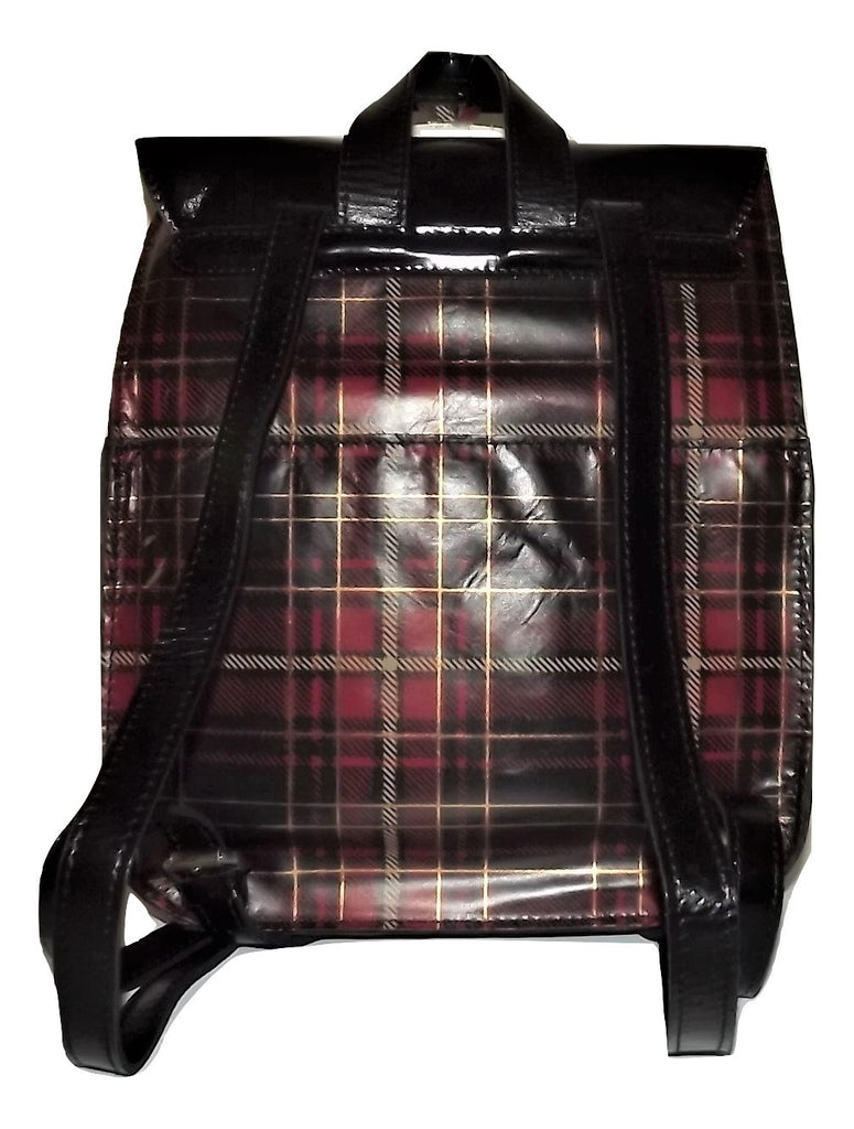 Patricia Nash Jovanna Backpack Gold Foil Tartan