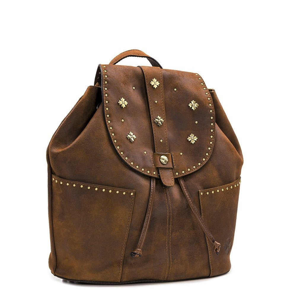 Patricia Nash Large Vasto Backpack Brown