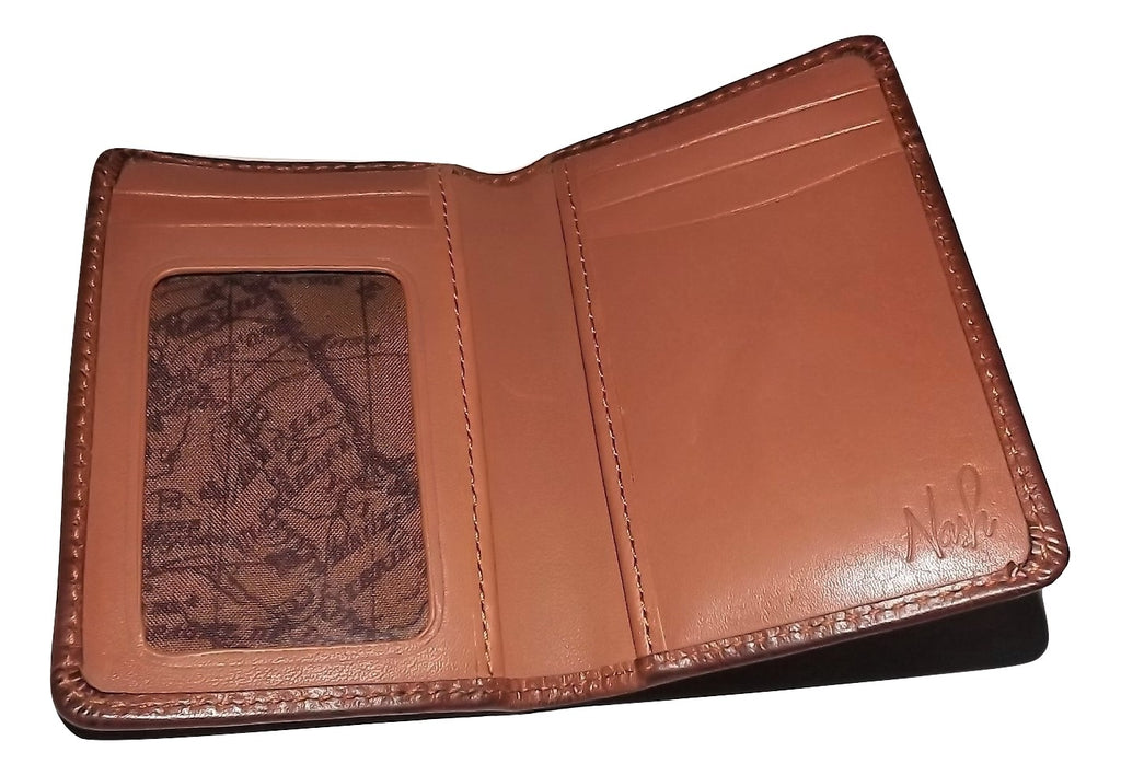 Patricia Nash Leather Bifold Folding Card Case Wallet