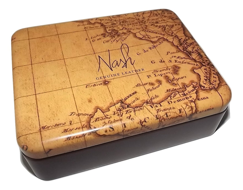 Patricia Nash Men's Wallet Gift Tin