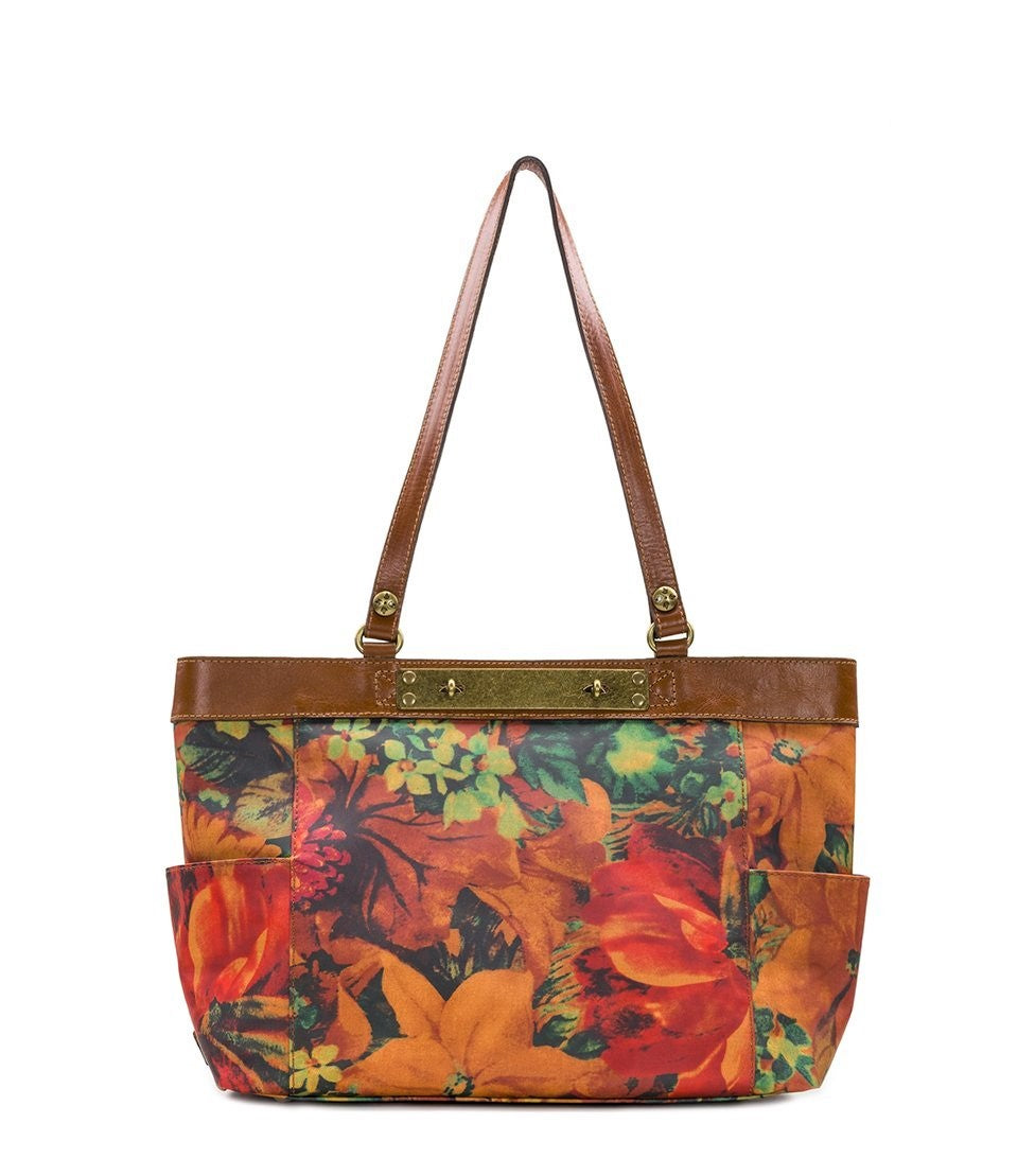 Patricia Nash Ria Tote Shoulder Bag Floral Multi
