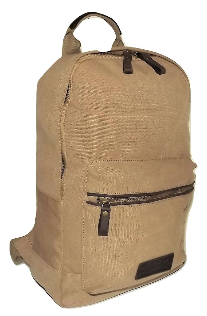 Portland Baggage Field Excursion Canvas Backpack Khaki
