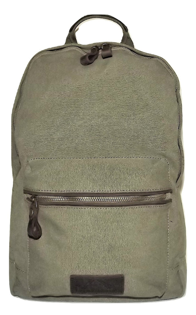 Portland Baggage Field Excursion Canvas Backpack Olive