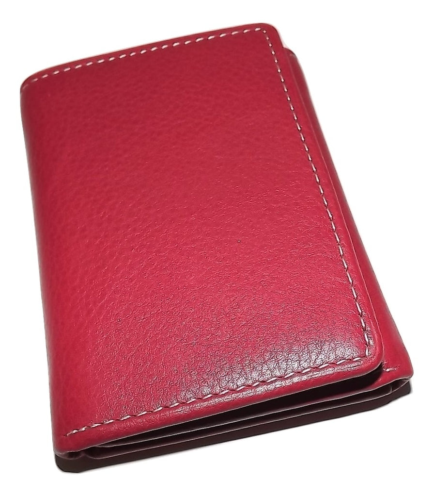 Roundtree & Yorke RFID Trifold Wallet Red