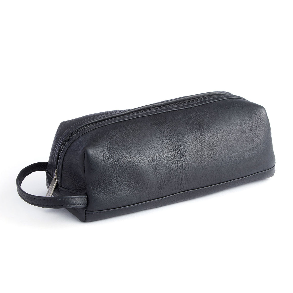 Royce Columbian Leather Travel Kit Black