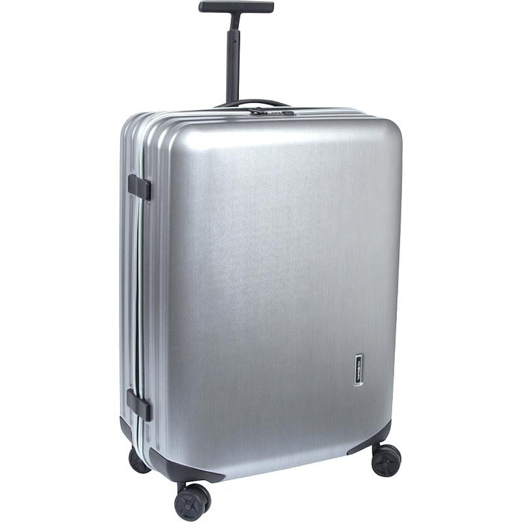 "Samsonite Inova 28"" Polycarbonate 4 Wheel Spinner Silver"