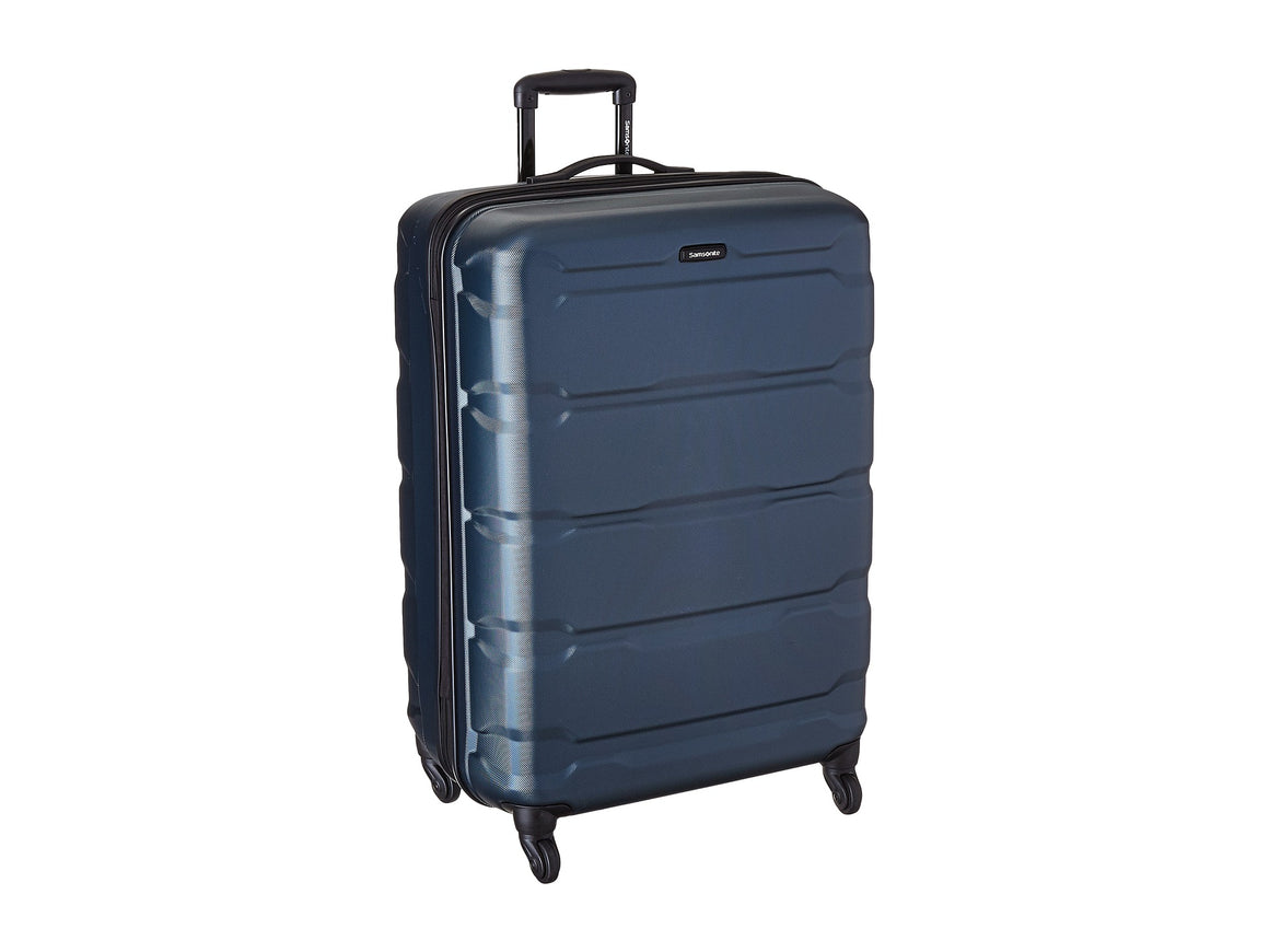 "Samsonite Omni 24"" 4 Wheel Spinner Luggage Teal"