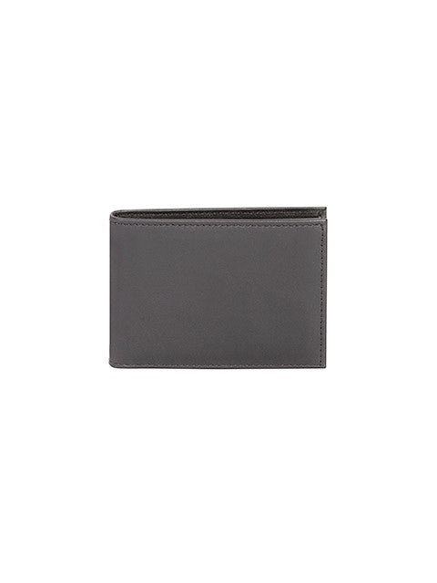 Scully Men's Nappa Leather Slim Bifold ID Wallet Black