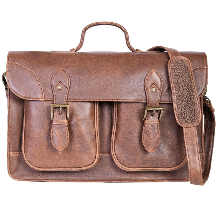 Scully Aero Squadron Workbag Laptop Briefcase