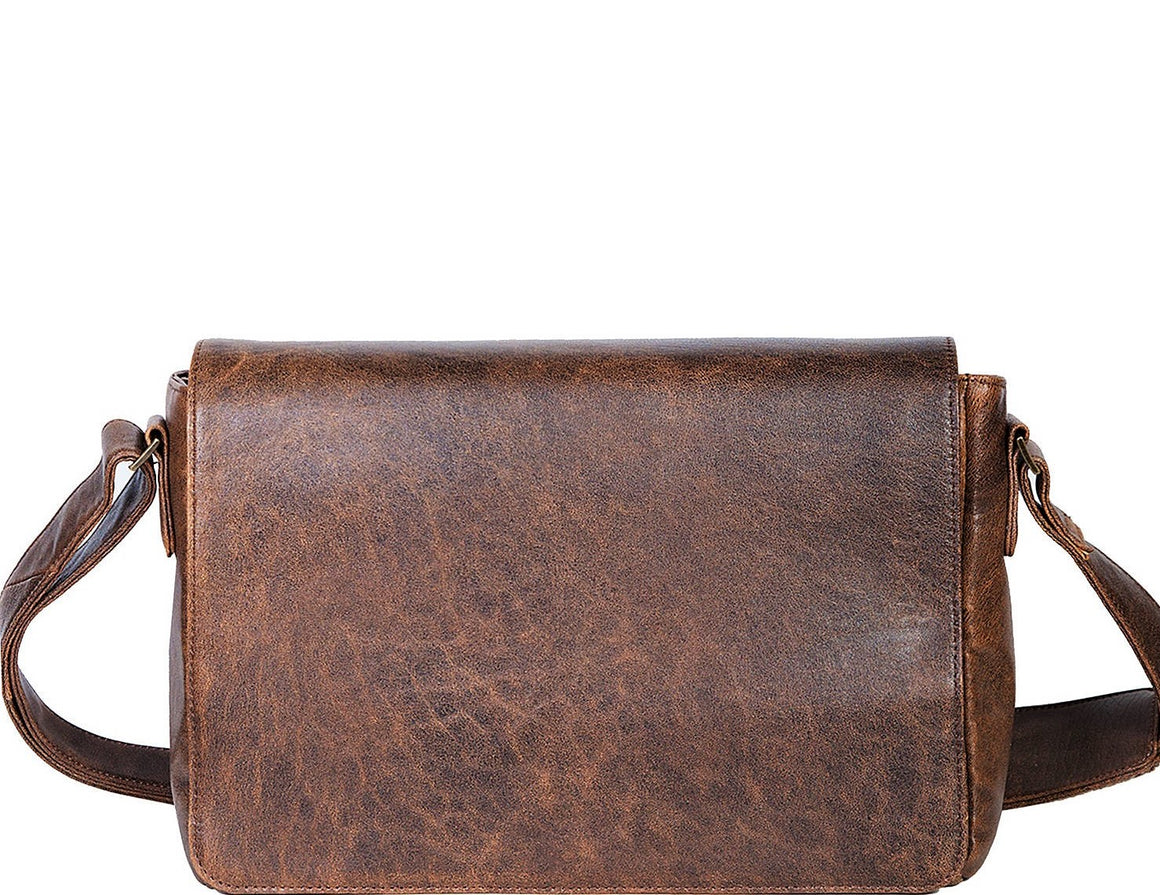 Scully Aero Squadron Messenger Brief Bag