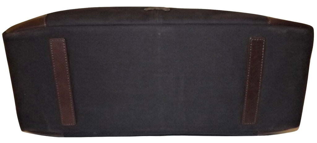 "Scully Cambria Canvas & Leather 19"" Duffel Navy"