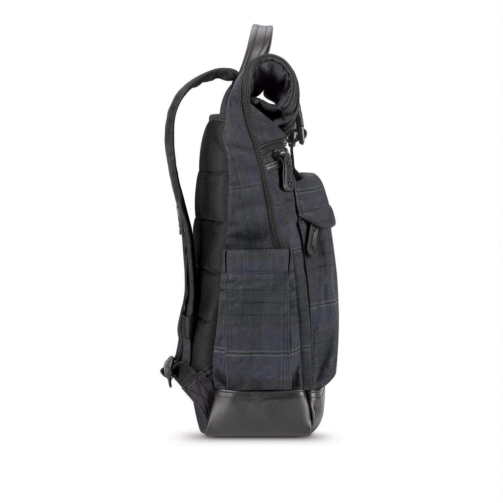 Solo Highland Collection Cameron Rolltop Laptop Backpack Plaid