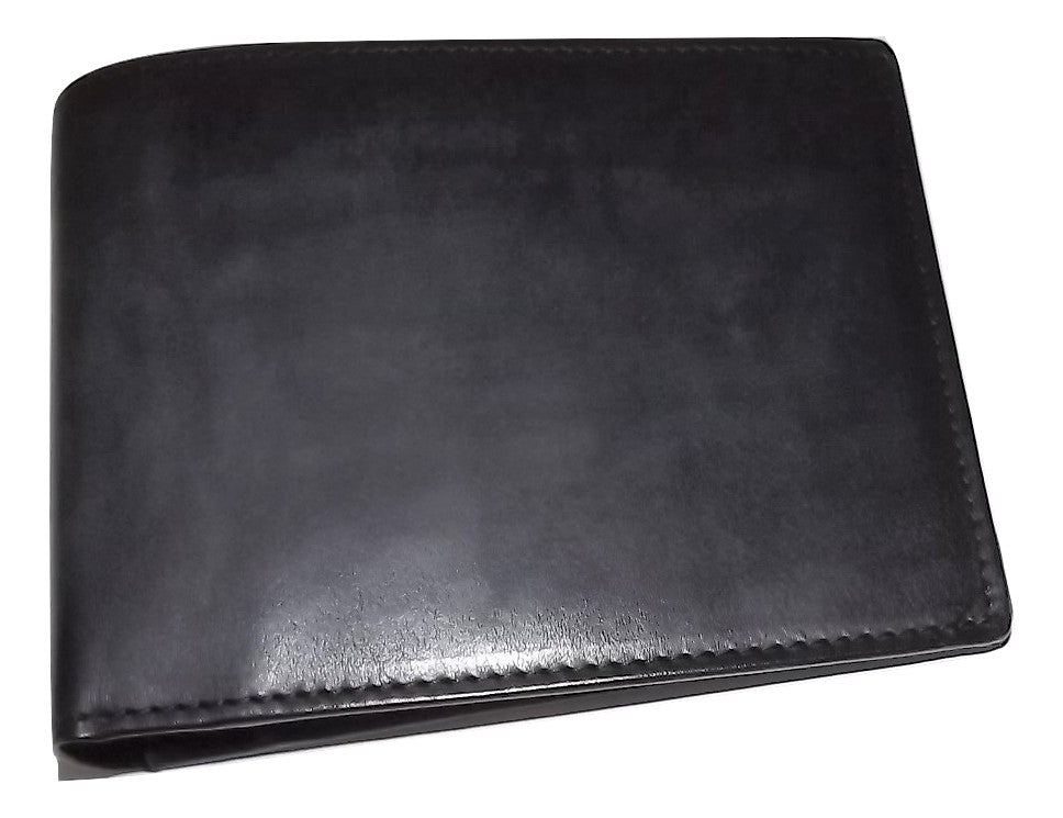 Spernanzoni Luxe Italian Leather Bifold 8 Pocket Wallet Espresso