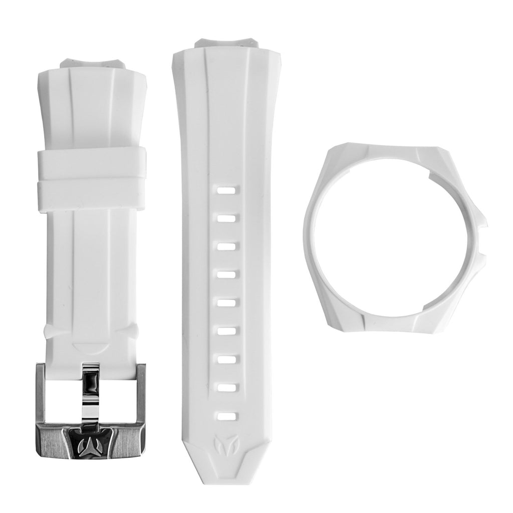 Technomarine Cruise California Watch White Band White Dial
