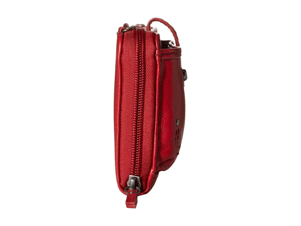 The Sak Iris Large Smartphone Crossbody Scarlet
