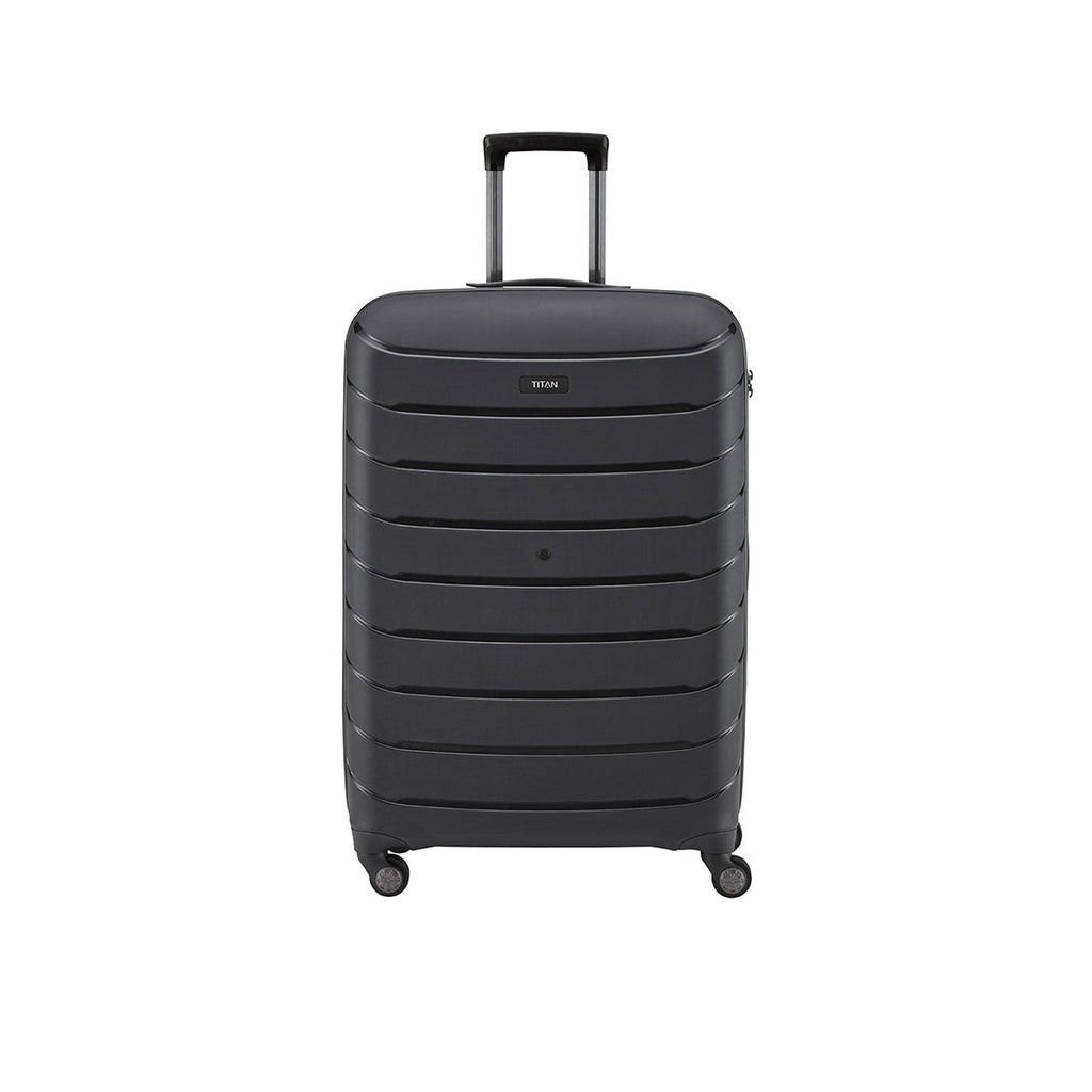 "Titan Limit 30"" 4 Wheel Spinner Luggage Black"