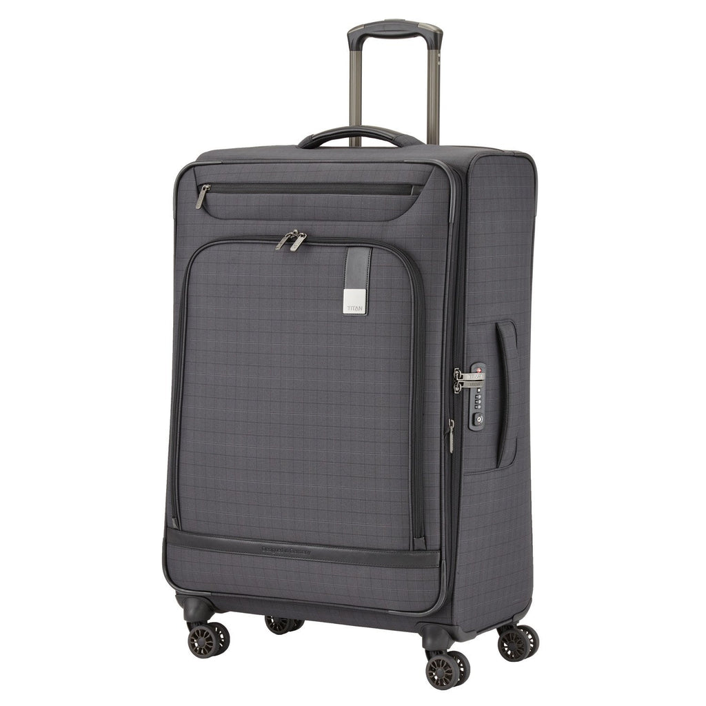 "Titan CEO 31"" 4 Wheel Spinner Luggage Grey"