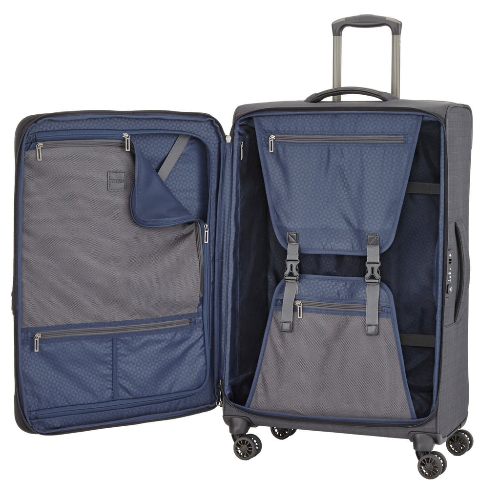 "Titan CEO 31"" 4 Wheel Spinner Luggage Interior"