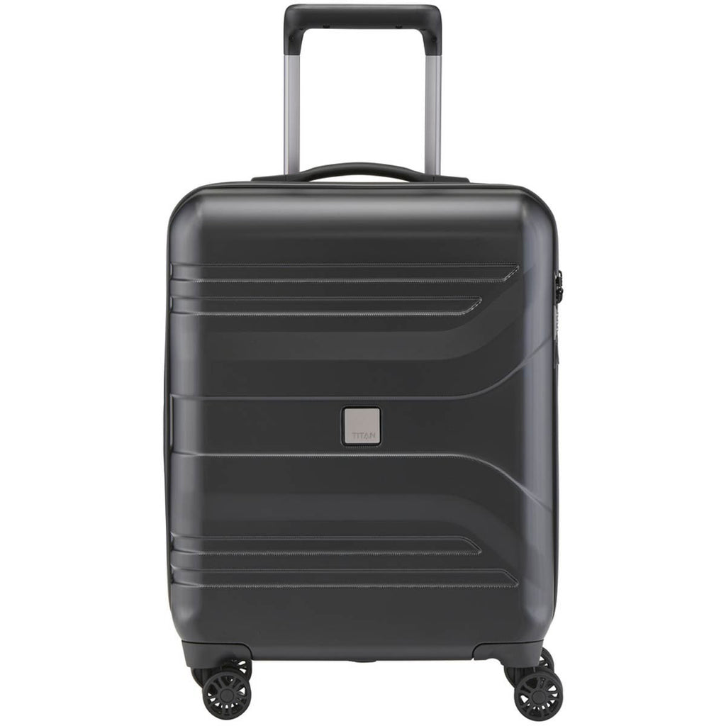 "Titan Prior 22"" Carry-on Luggage Black"