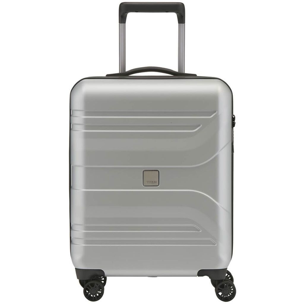 "Titan Prior 22"" Carry-on Luggage Ice Silver"