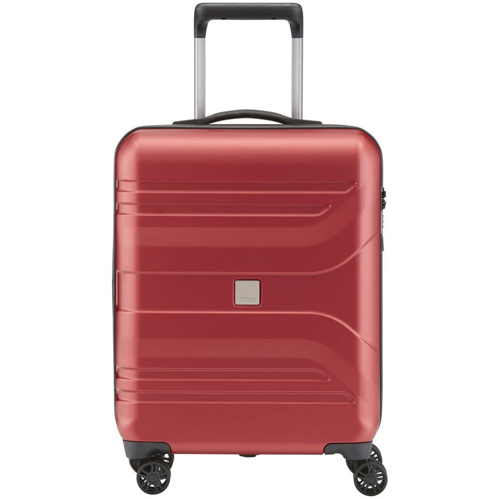 "Titan Prior 22"" Carry-on Luggage Red"