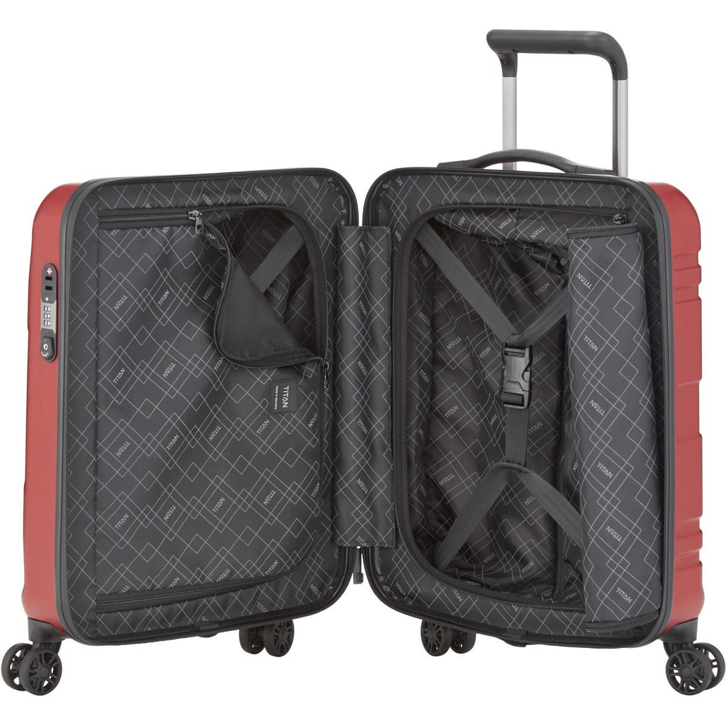 "Titan Prior 22"" Carry-on Luggage Interior"