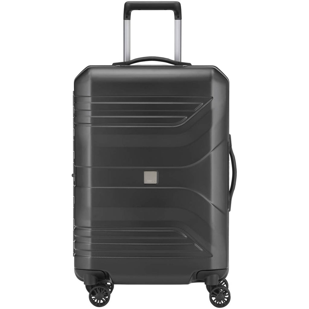 "Titan Prior 27"" 4 Wheel Spinner Luggage Black"