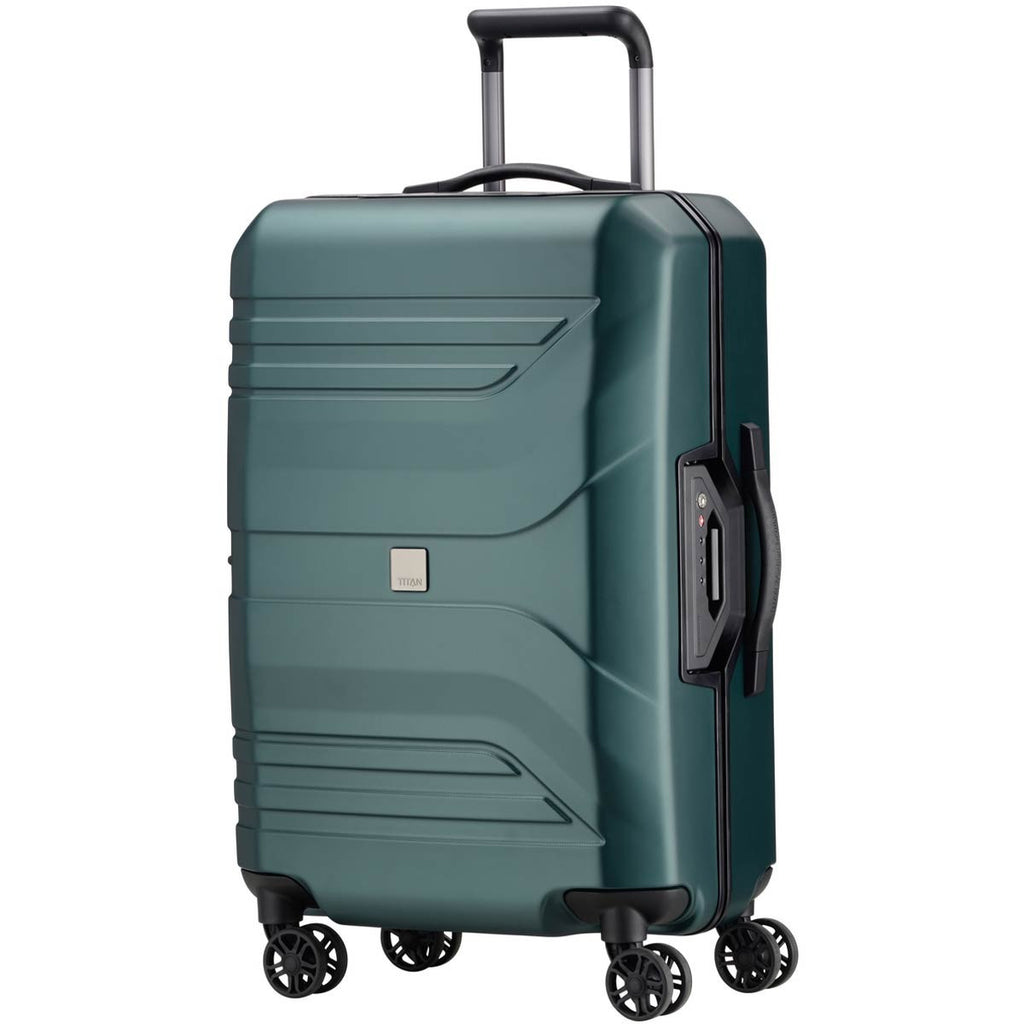 "Titan Prior 27"" 4 Wheel Spinner Luggage Deep Petrol"