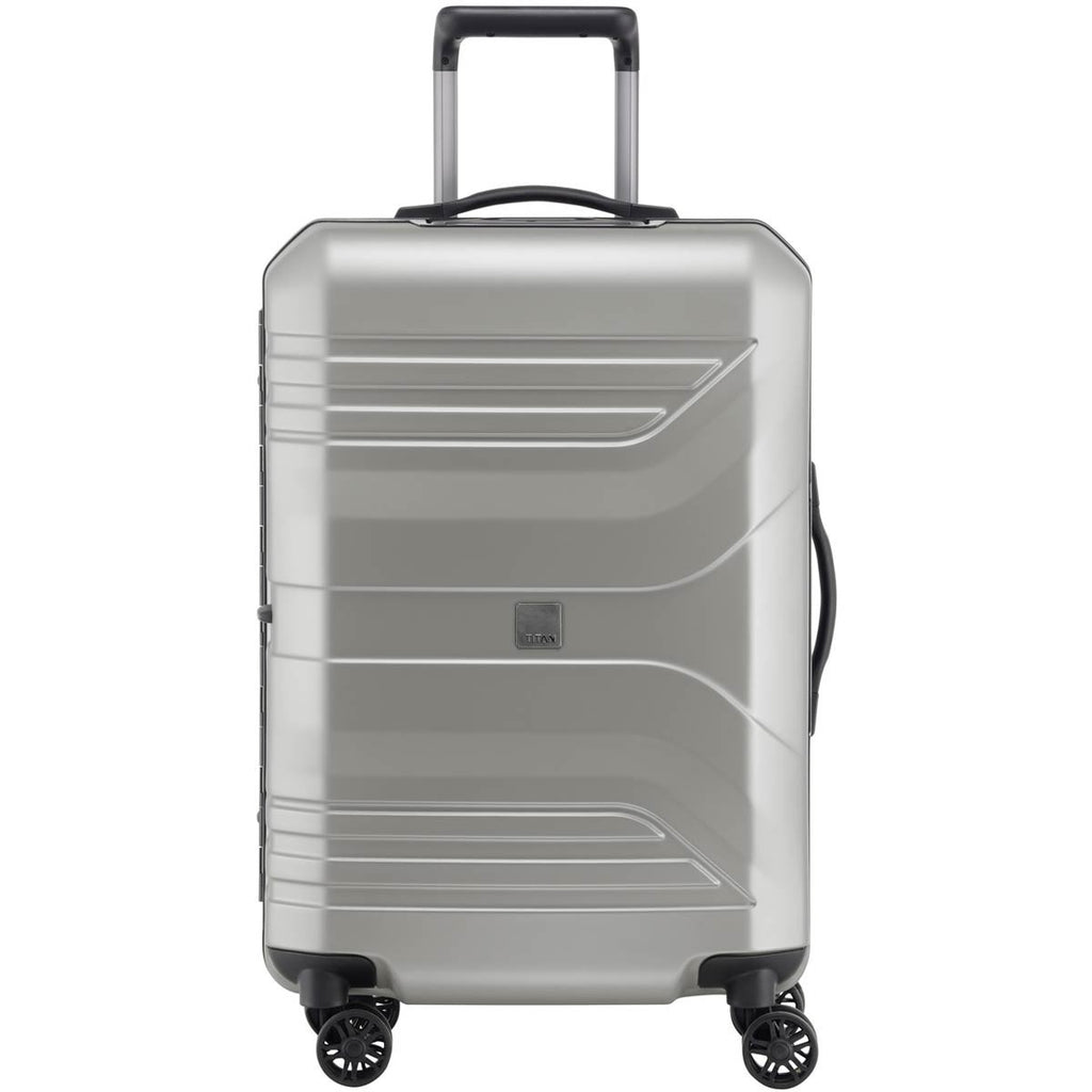 "Titan Prior 27"" 4 Wheel Spinner Luggage Ice Silver"