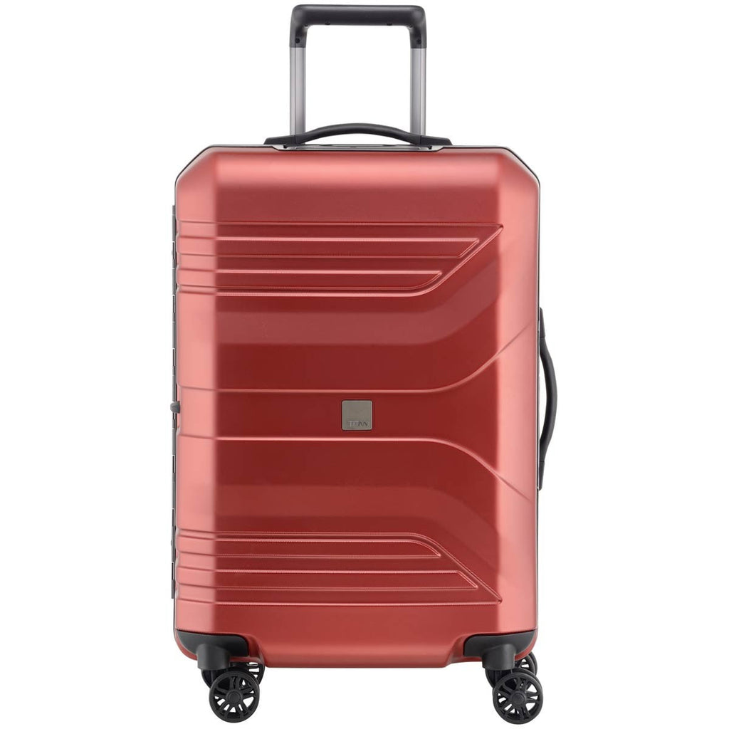 "Titan Prior 27"" 4 Wheel Spinner Luggage Sunset Red"