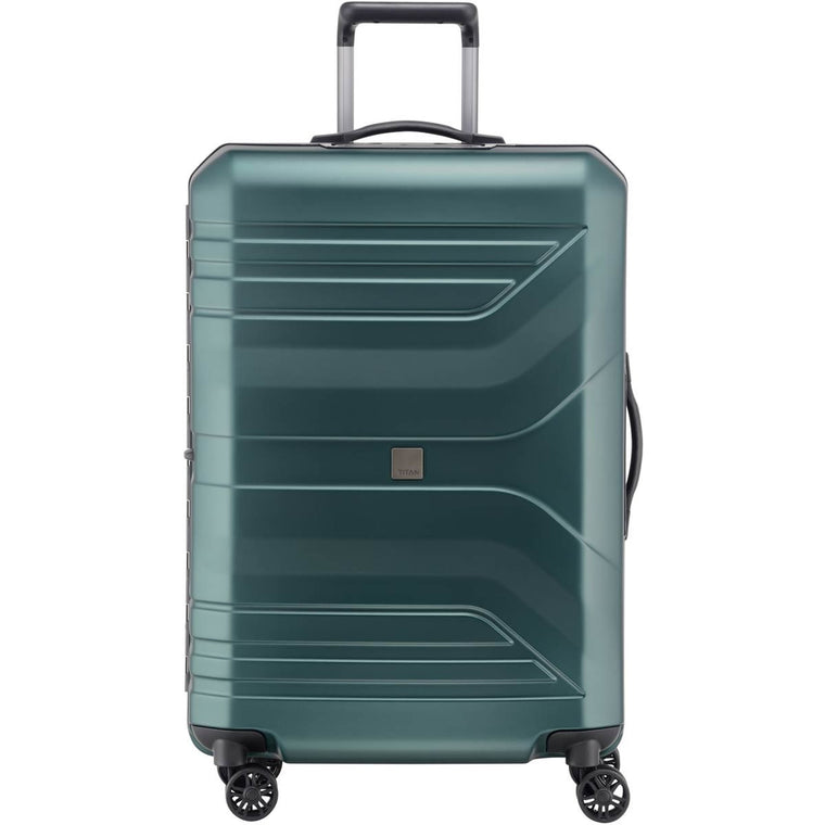 "Titan Prior 30"" 4 Wheel Spinner Luggage Deep Petrol"