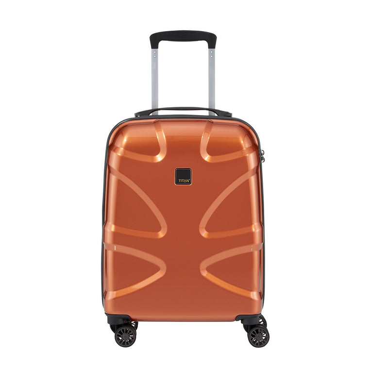 "Titan X2 22"" 4 Wheel Spinner Luggage Copper"