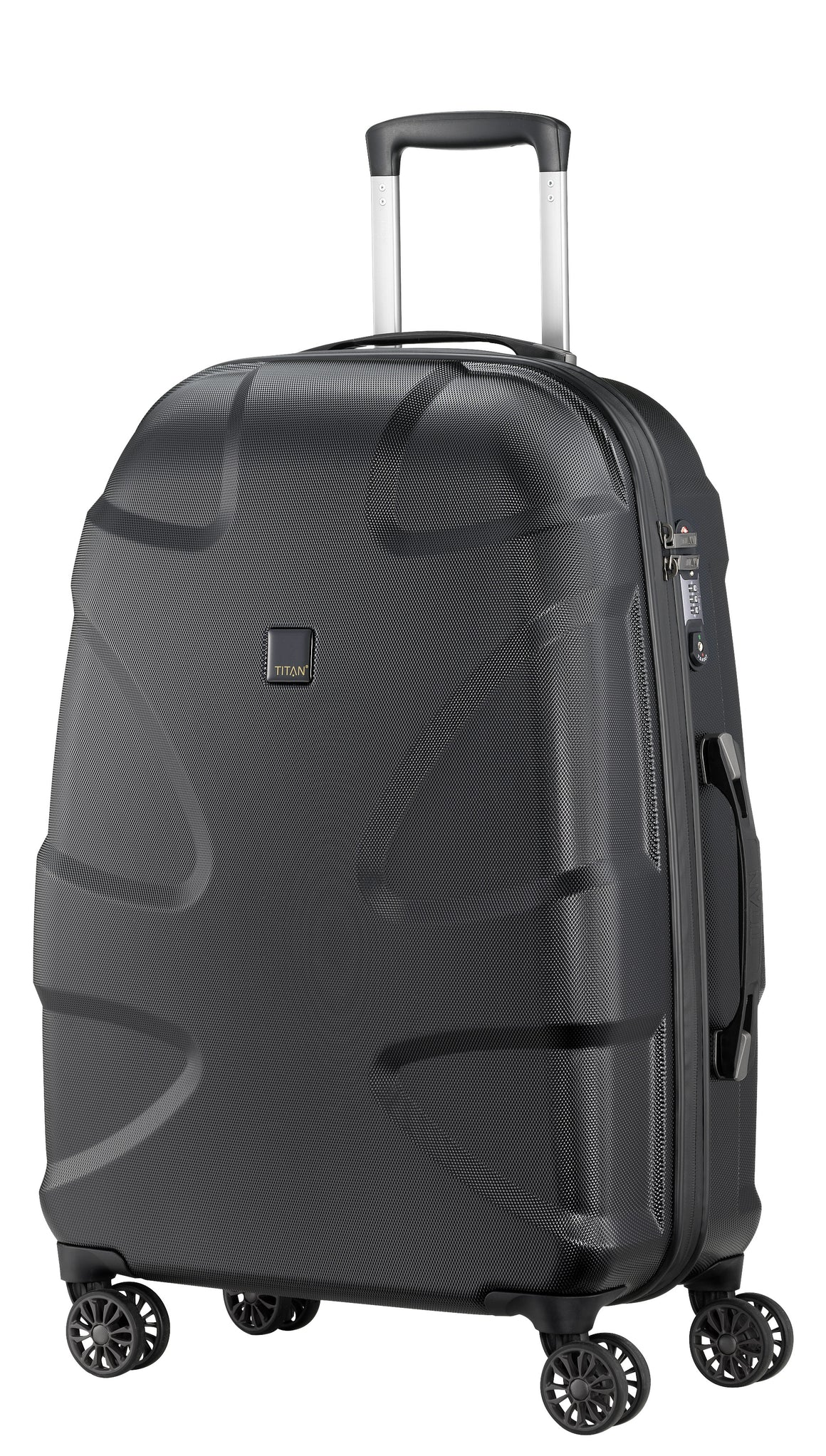 "Titan X2 28"" 4 Wheel Spinner Luggage Midnight Blue"