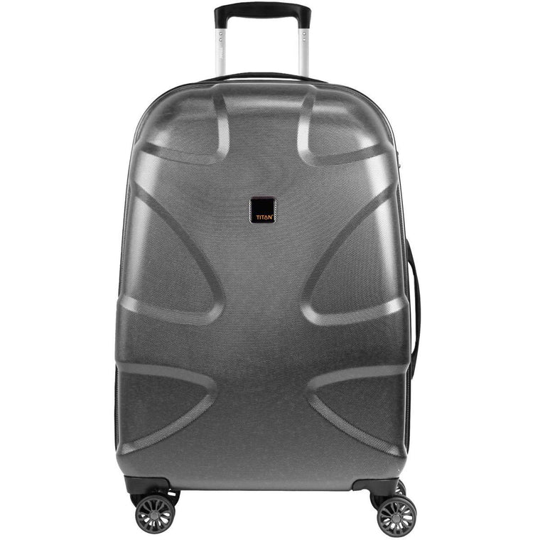 "Titan X2 30"" 4 Wheel Spinner Luggage Gunmetal"