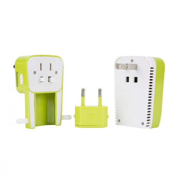 Travelon 3 in 1 Travel Adapter and Converter with Charger