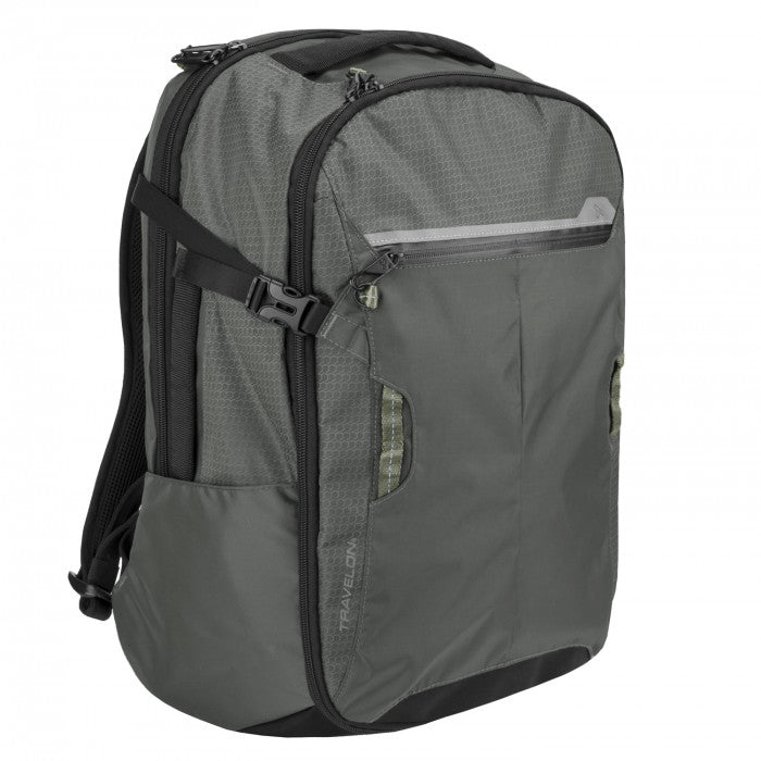 Travelon Active Anti-Theft Carry-on Weekender Backpack Charcoal