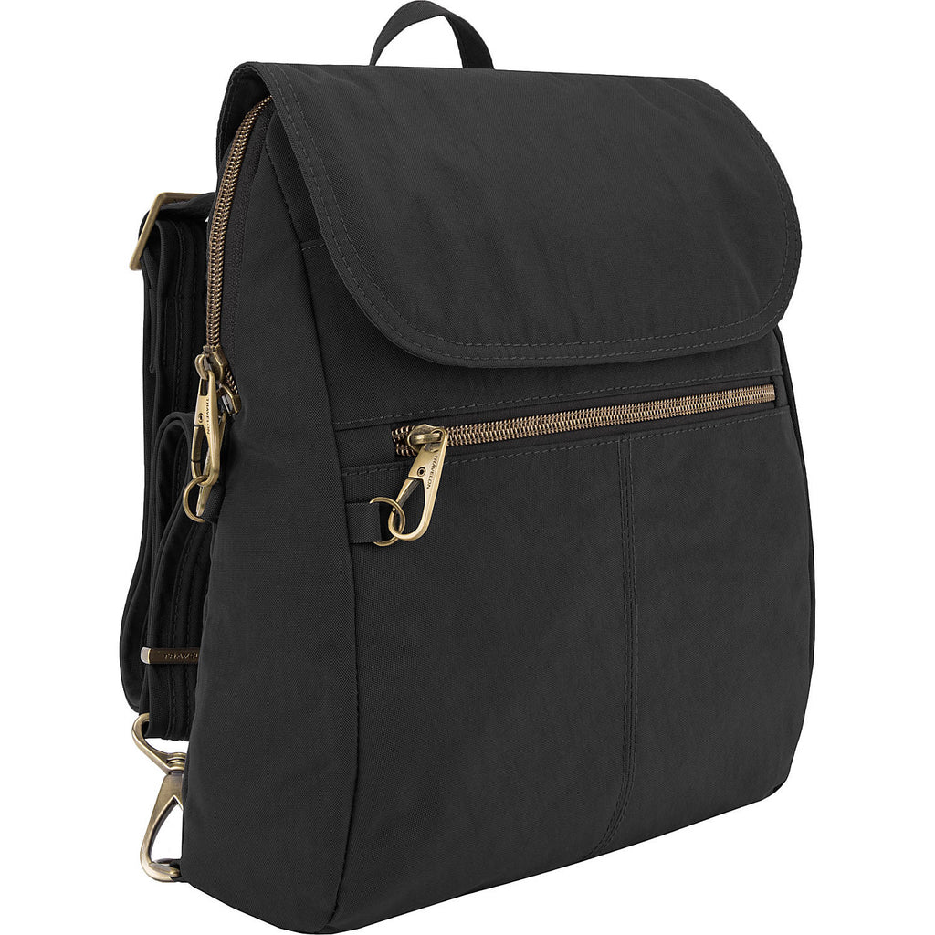 Travelon Anti-Theft Signature Slim Backpack Black