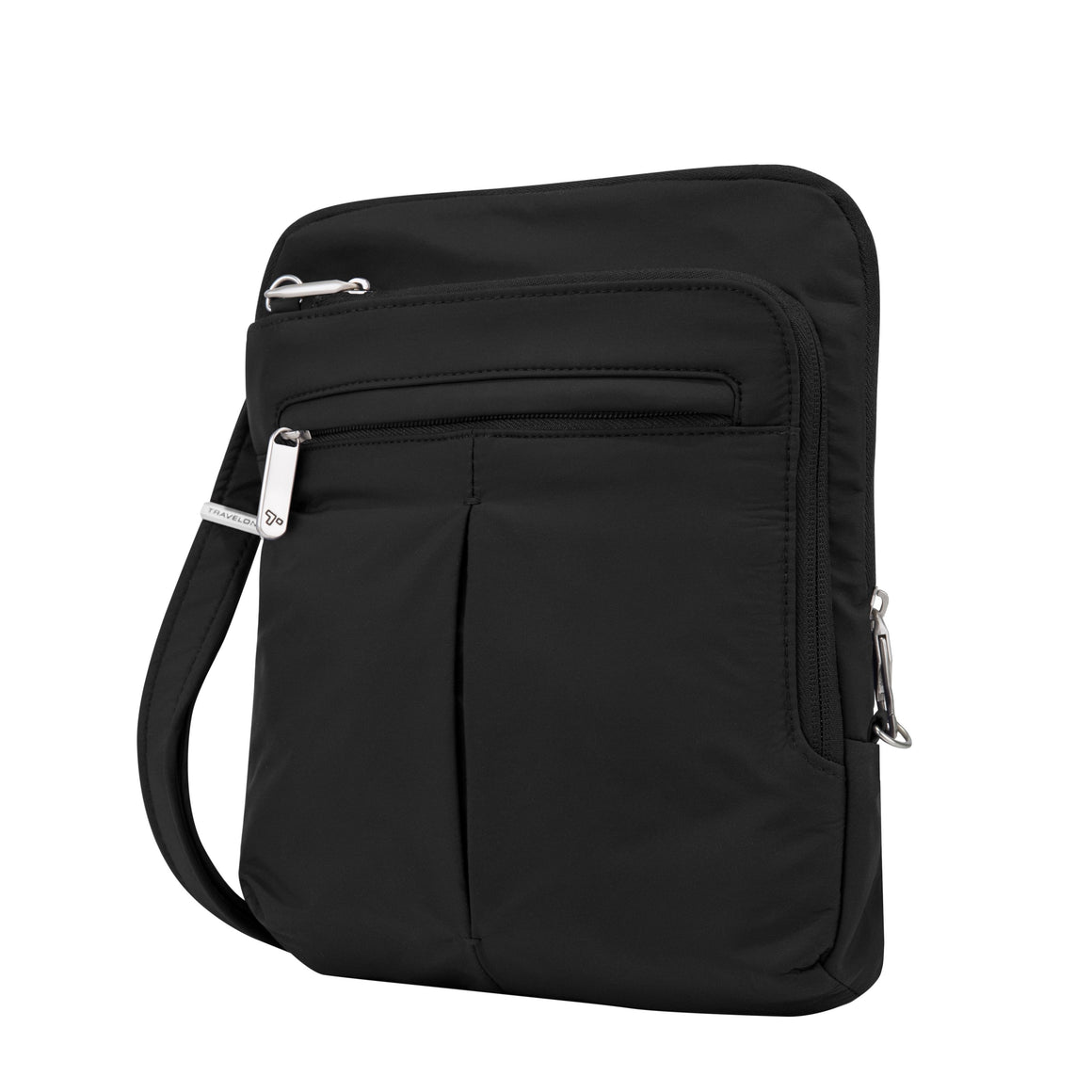 Travelon Classic Light Slim Bag Shouder Bag Black