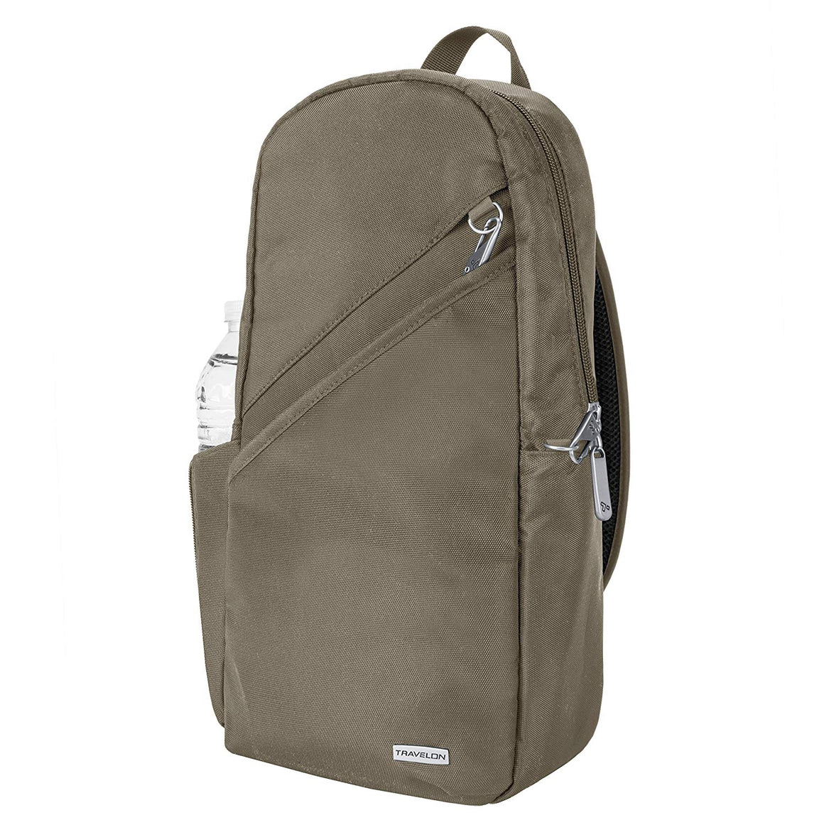 Travelon Anti-Theft Classic Sling Bag Nutmeg