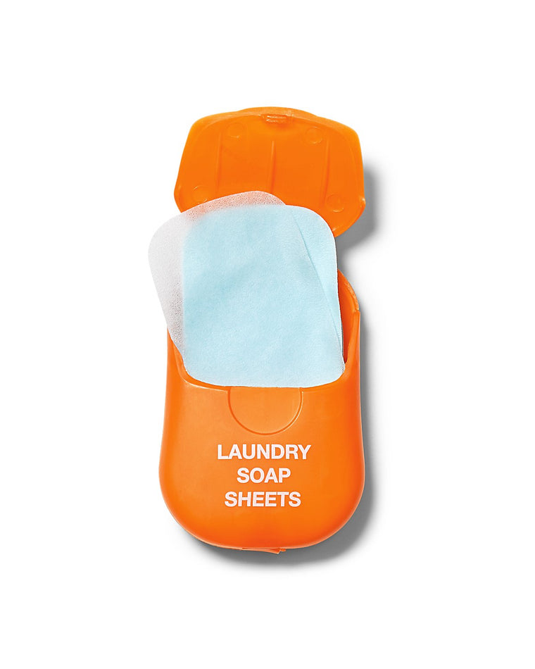 Travelon Compact Travel Laundry Soap 50 Sheets Airline Carry-on Compliant