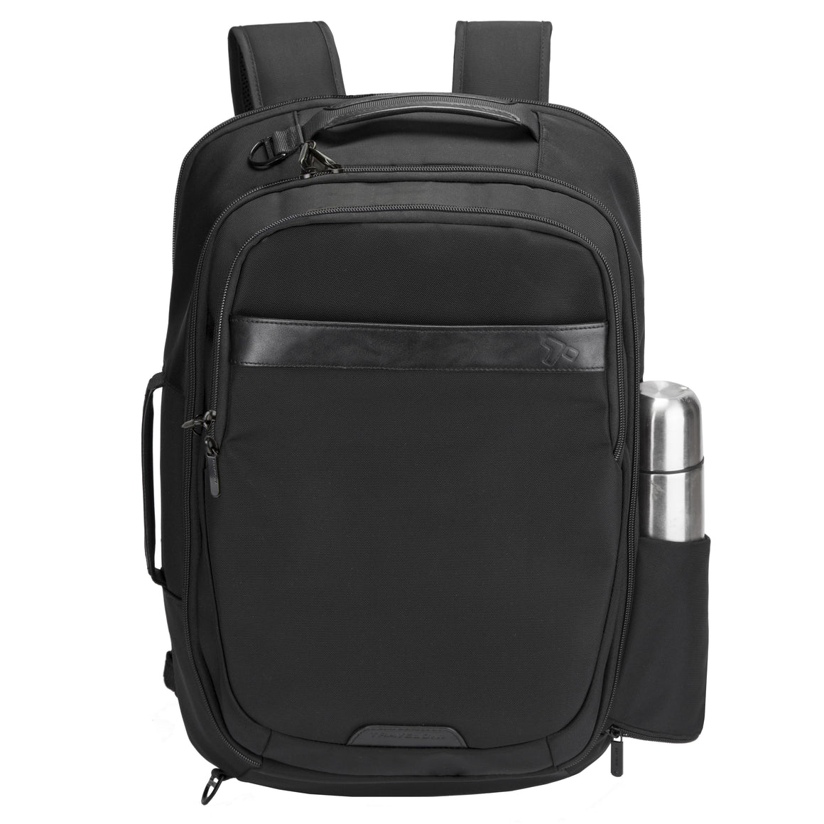 Travelon Anti-Theft Classic Plus Convertible Weekender Laptop Backpack Black