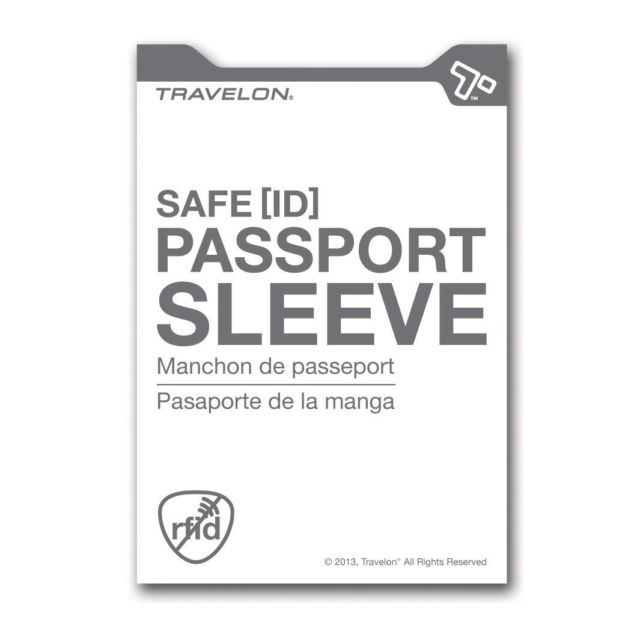 Travelon Safe ID Passport Sleeve Set of 2