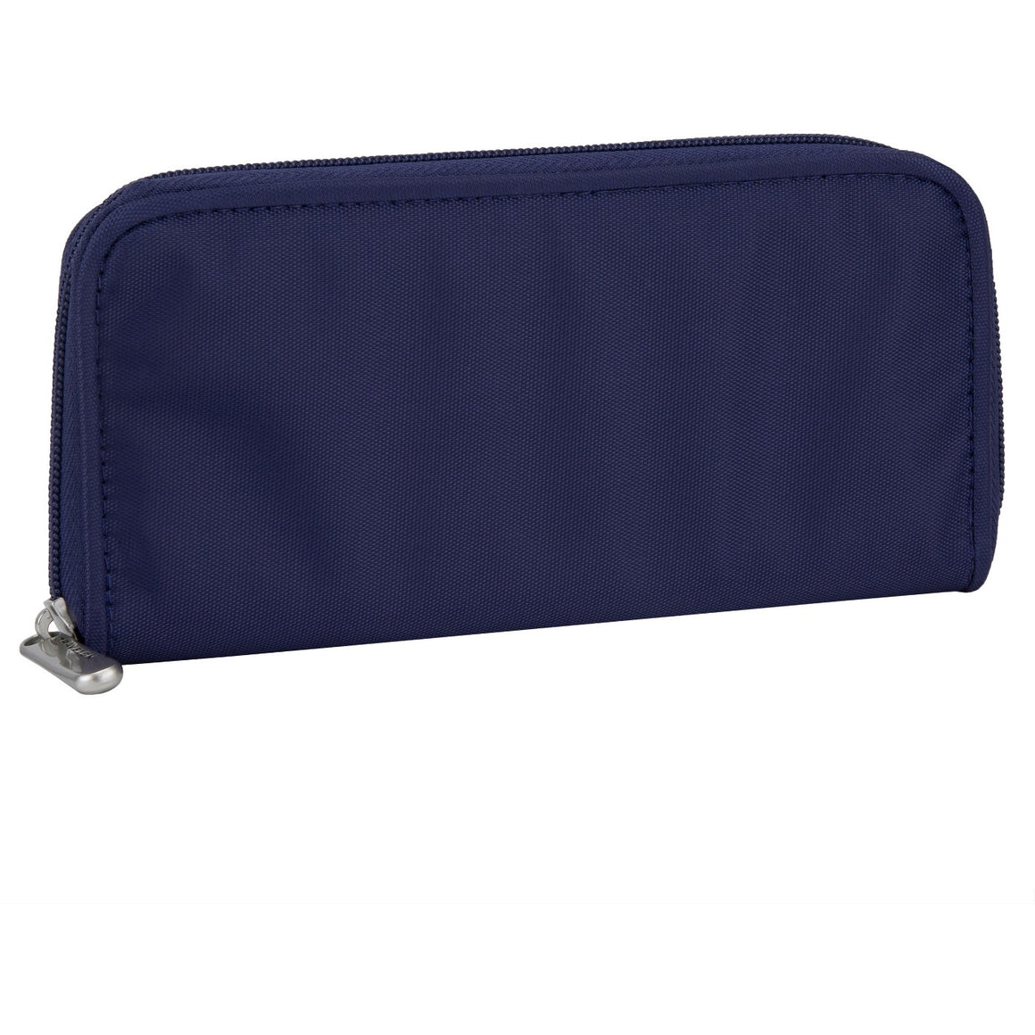 Travelon RFID Blocking Zip Around Clutch Wallet Royal Blue